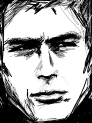 RANDOM ACTS OF DOODLE / QUICK SKETCH / KINDA SORTA JAMES DEAN MAYBE MAYBE NOT HELL NO