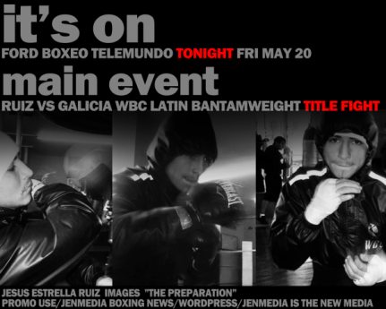JENMEDIA works / graphic design / pro boxing...
