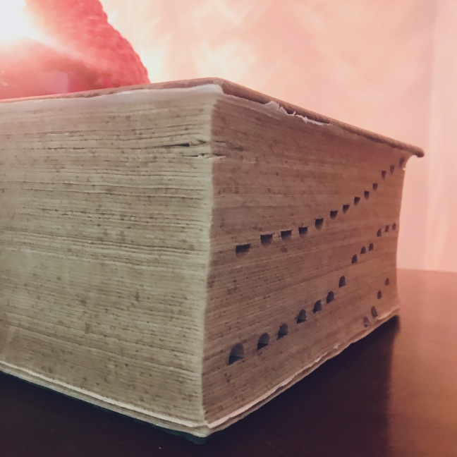 """I was reading the dictionary. I thought it was a poem about everything.""#StevenWright (Happy#NationalDictionaryDay. Doing some light reading tonight. This old book, © 1939, is 6 inches thick and chock'full of word. Print is not dead. It just smells funny.  #Quotes #TheStatusQuoth is my daily #Quote #Blog (via JENMEDIA.NET)"