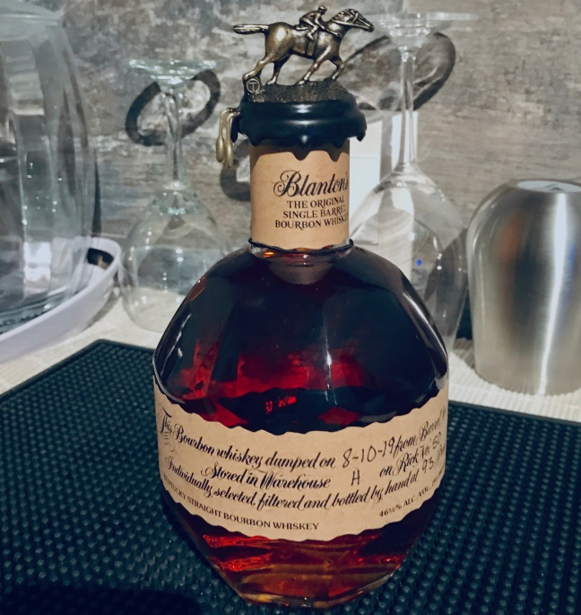 JENMEDIA.NET quote blog post about bourbon with photo image #Blantons